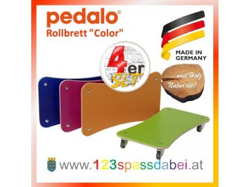 "Pedalo®  Rollbrett ""Color"" 4er Set"