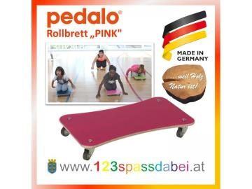 "Pedalo® PINK Rollbrett ""Color"" Set"